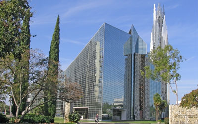 St. Killians chosen as the light of Christ Cathedral, Orange County